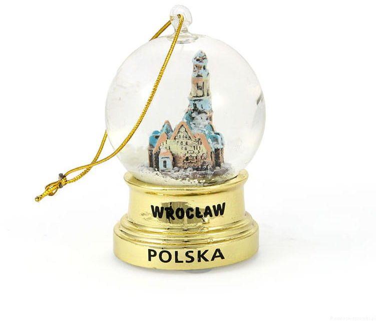 Kula śniegowa 45mm - Wrocław Złota Wisząca