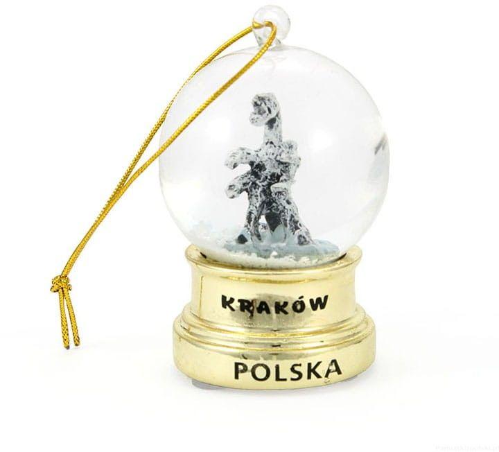 Kula śniegowa 45mm - Kraków Złota Wisząca
