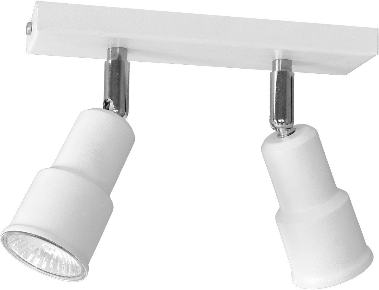 Listwa sufitowa ASPO 985PL/H Aldex nowoczesna biała listwa sufitowa