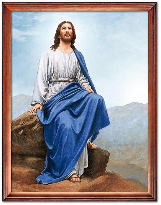 Obraz z wizerunkiem Jezusa Chrystusa