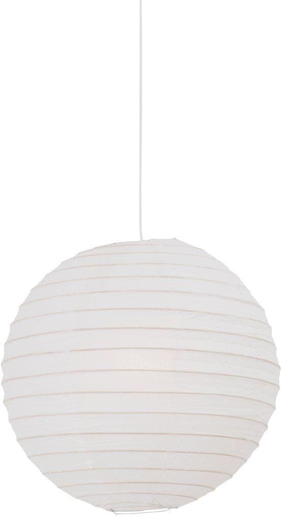 Abażur Rispapir 40 14094001 Nordlux biała oprawa z papieru w kształcie kuli