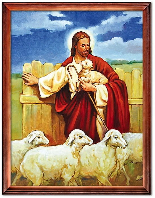 Obraz Jezus Chrystus Dobry Pasterz