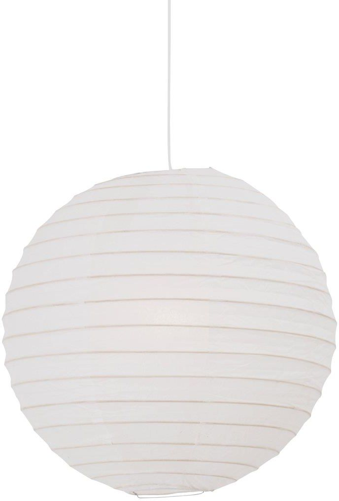 Abażur Rispapir 48 14094801 Nordlux biała oprawa z papieru w kształcie kuli
