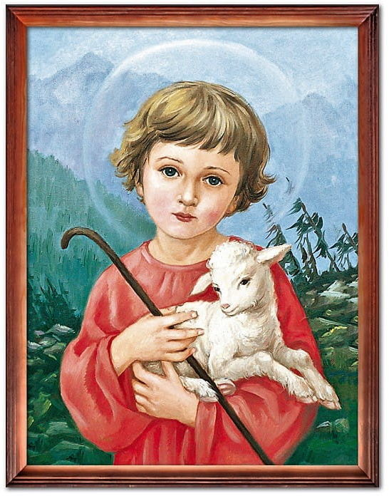 Obraz Jezus z barankiem
