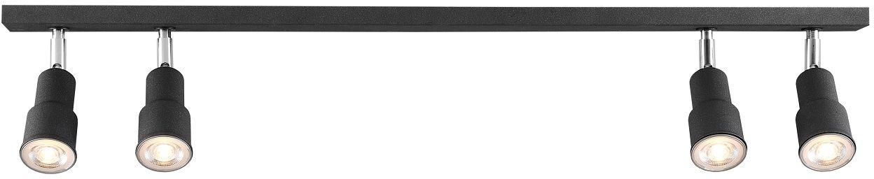 Listwa sufitowa ASPO 985PL/L1 Aldex nowoczesna czarna listwa sufitowa