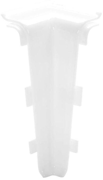 Narożnik wewnętrzny do listwy przypodłogowej Indo Biały Arbiton