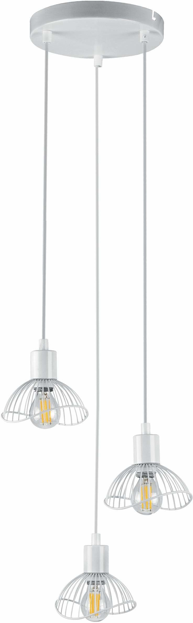 Activejet Aje-Holly 7 Whi Lampa ,Biały ,3 Żarówki