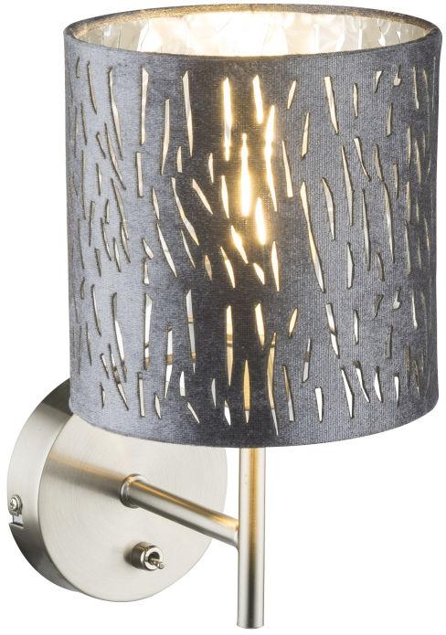 Globo TAROK 15265W kinkiet lampa ścienna srebrna 1xE14 40W 15cm