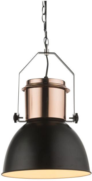 Globo KUTUM 15282 lampa wisząca miedź czarny 1xE27 40W 26,5cm