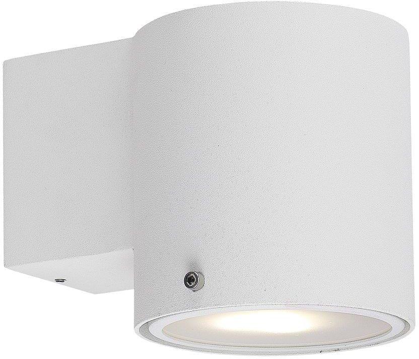 Kinkiet łazienkowy IP S5 78521001 Nordlux biała oprawa ścienna w nowoczesnym stylu