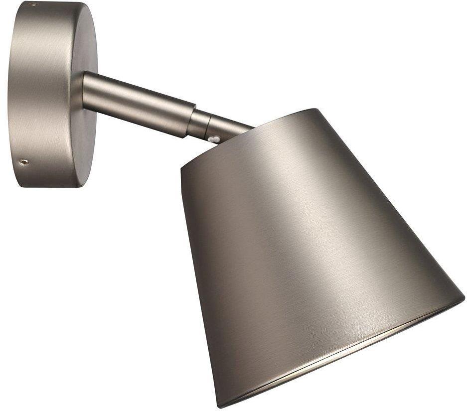 Kinkiet łazienkowy IP S6 78531032 Nordlux satynowa oprawa ścienna w nowoczesnym stylu
