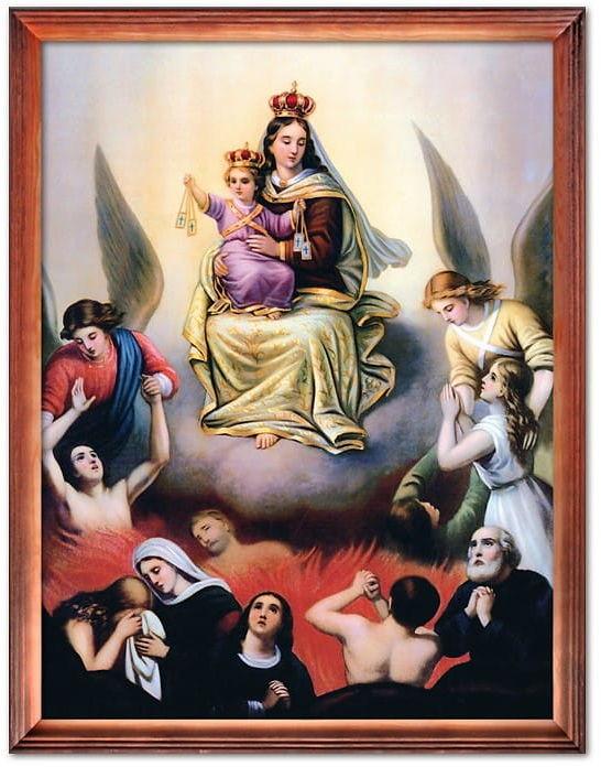 Obraz Matka Boża Szkaplerzna