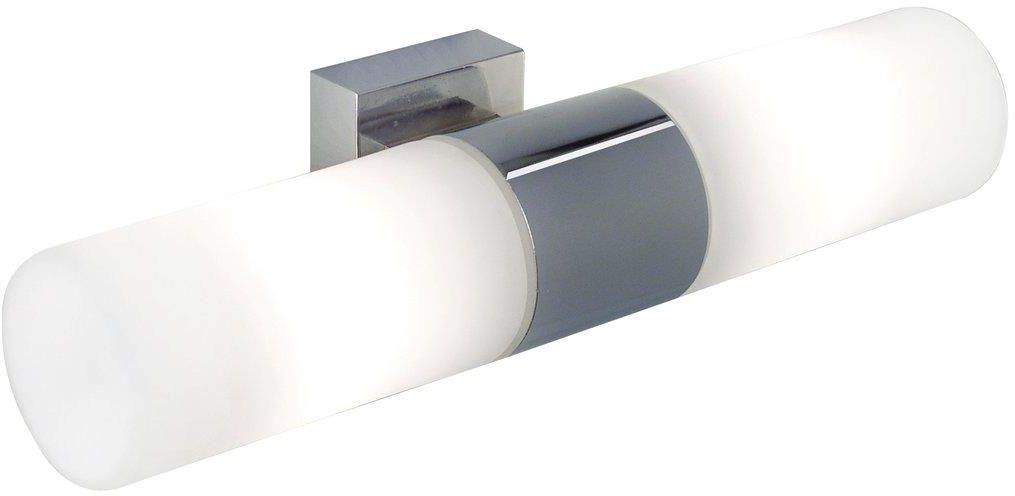 Kinkiet łazienkowy Tangens 17141029 Nordlux podwójna oprawa ścienna w kolorze chromu