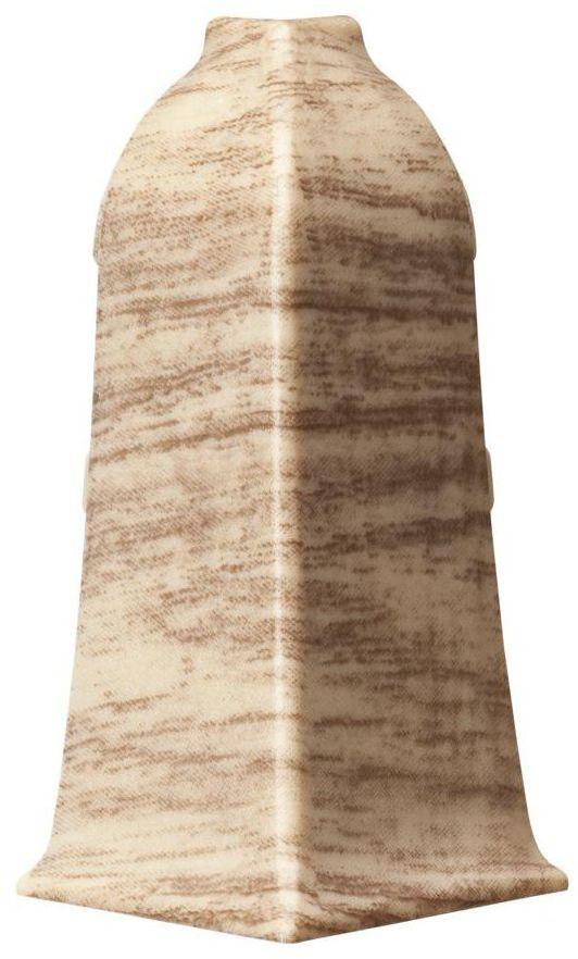 Narożnik zewnętrzny do listwy przypodłogowej LM 60 Dąb ardeński Arbiton