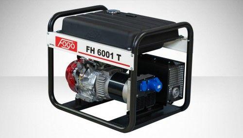 Agregat prądotwórczy Fogo FH 6001 T Honda generator