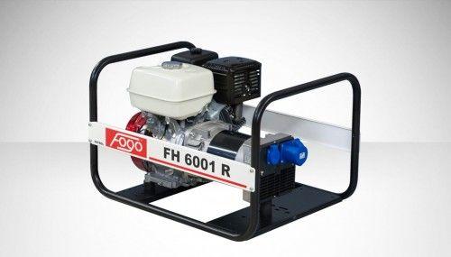 Agregat prądotwórczy Fogo FH 6001 R FH6001 R Honda generator