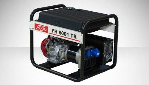 Agregat prądotwórczy Fogo FH 6001 TR Honda generator