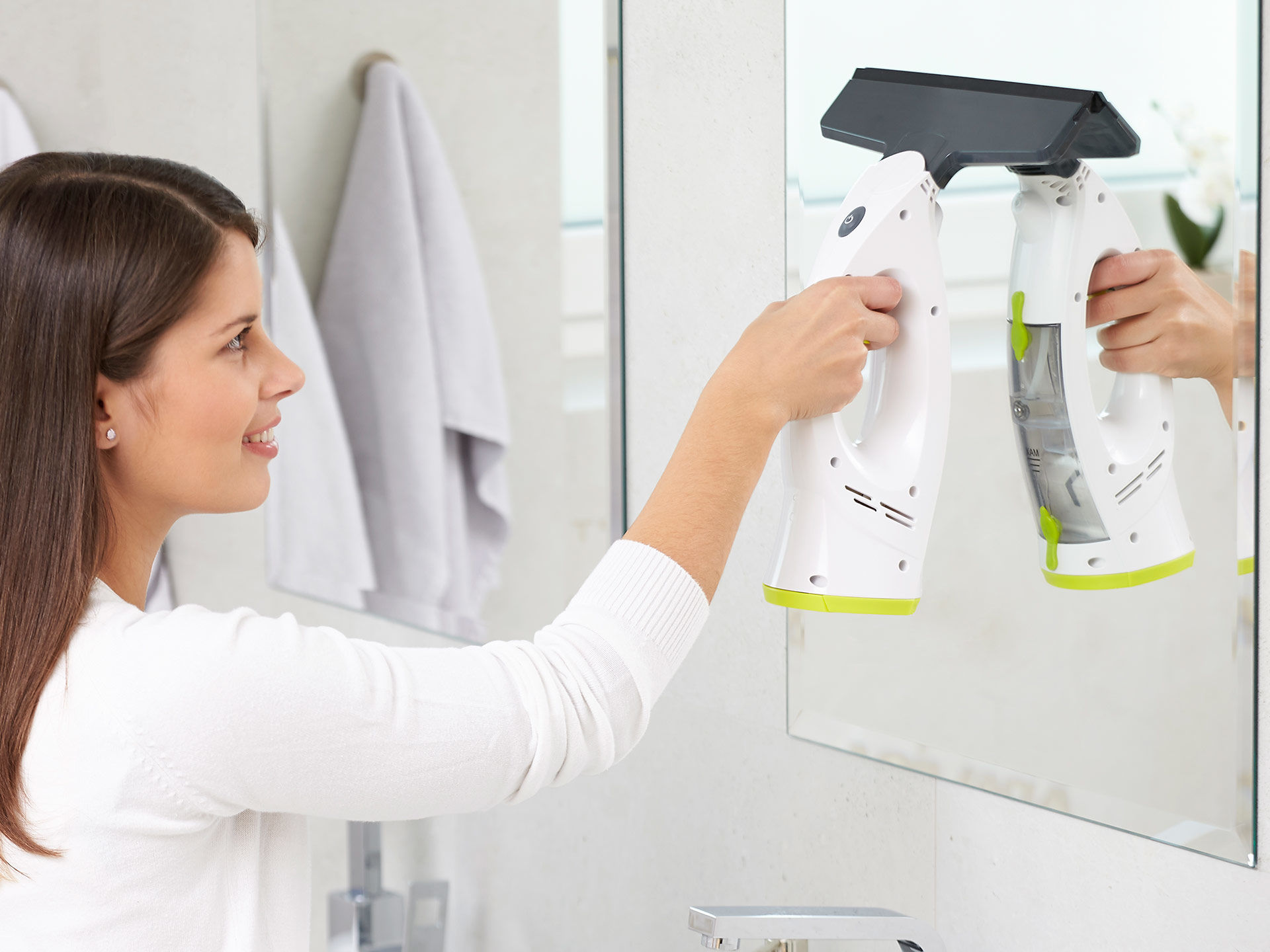 Rovus Elektryczna myjka do szyb Window Magic