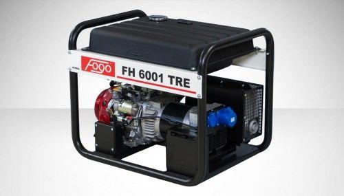 Agregat prądotwórczy Fogo FH 6001 TRE Honda generator