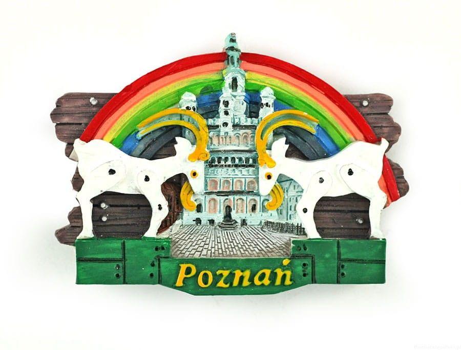 Magnes deska Poznań koziołki