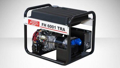 Agregat prądotwórczy Fogo FH 6001 TRA Honda generator