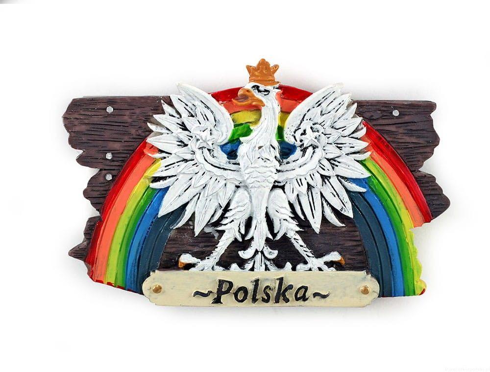 Magnes deska Polska orzeł
