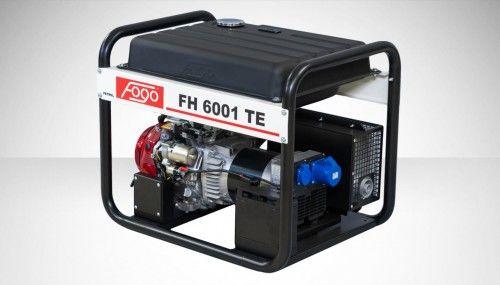 Agregat prądotwórczy Fogo FH 6001 TE Honda generator