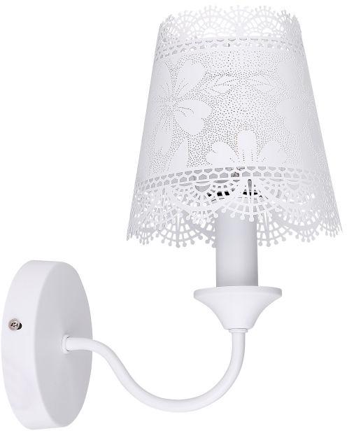 Globo SABADELL 15372W kinkiet lampa ścienna biała 1xE14 40W 15cm