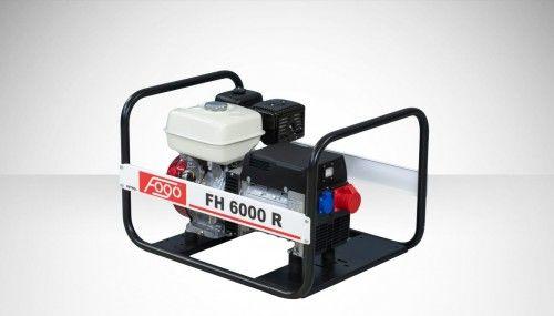 Agregat prądotwórczy Fogo FH 6000 R Honda generator