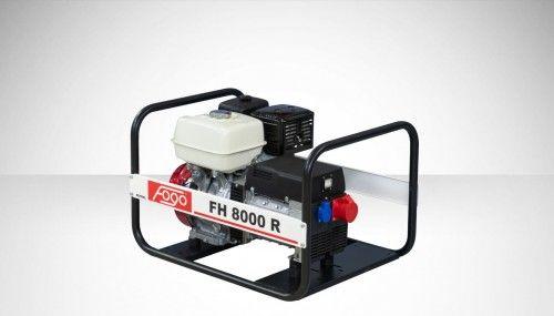 Agregat prądotwórczy Fogo FH 8000 R Honda generator