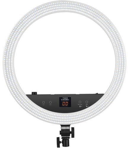 Yongnuo YN808 - lampa diodowa pierścieniowa LED, temp. barwowa 3200-5500K Yongnuo YN808, 3200-5500K