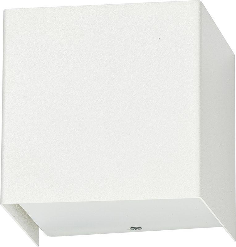 Kinkiet Cube 5266 Nowodvorski Lighting biała oprawa w kształcie sześcianu