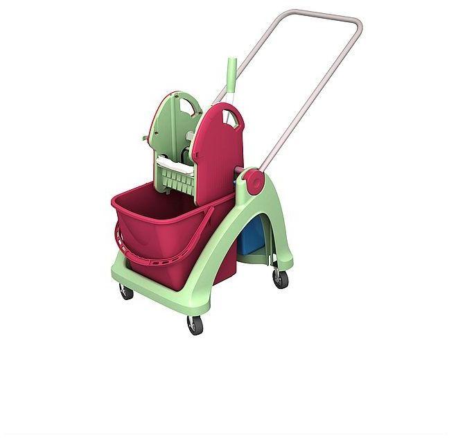 Antybakteryjny wózek do sprzątania TSA-0001 Splast