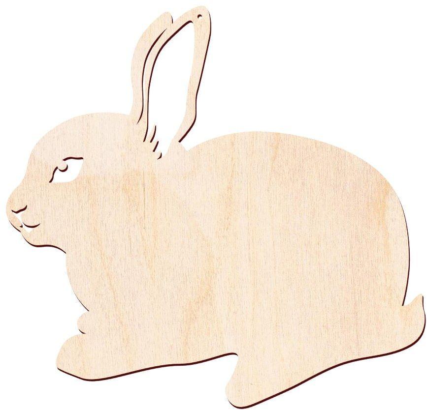 Zajączek Wielkanocny drewniany - 43 cm - 1 szt.