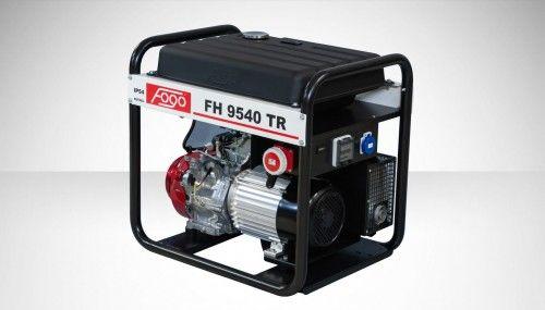 Agregat prądotwórczy Fogo FH 9540 TR Honda generator