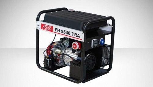 Agregat prądotwórczy Fogo FH 9540 TRA Honda generator
