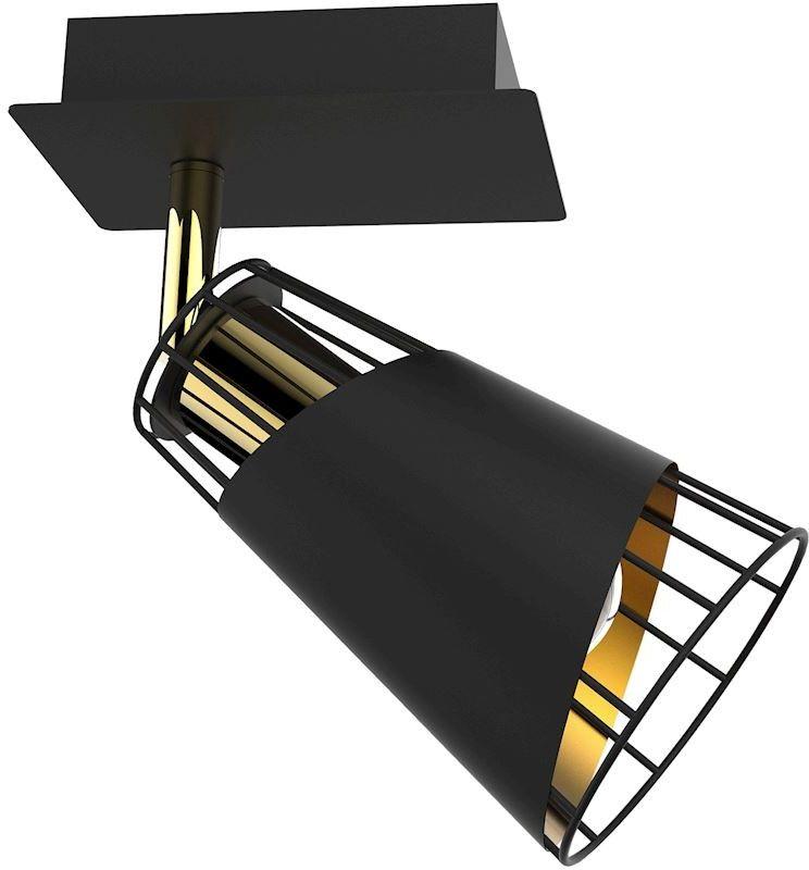 Kinkiet Rick 1 Czarny ML5565 - Milagro Do -17% rabatu w koszyku i darmowa dostawa od 299zł !