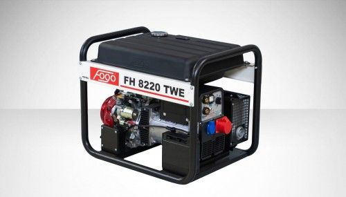 Agregat prądotwórczy Fogo FH 8220 TWE Honda generator
