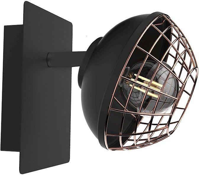 Kinkiet Logan 1 Czarny ML4609 - Milagro Do -17% rabatu w koszyku i darmowa dostawa od 299zł !
