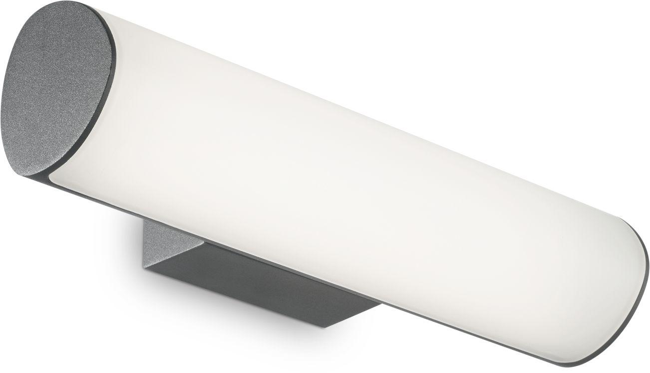 Kinkiet Etere 246925 Ideal Lux zewnętrzna lampa ścienna w kolorze antracytu