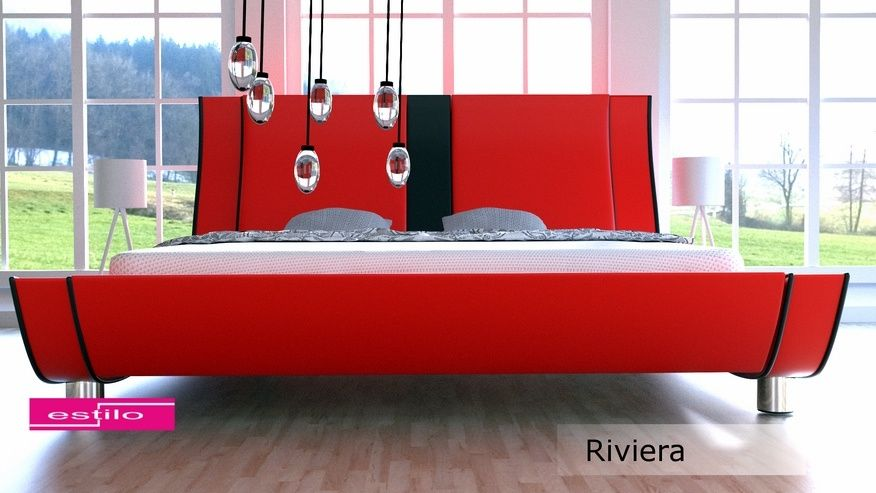 Łóżko tapicerowane Riviera 160x200