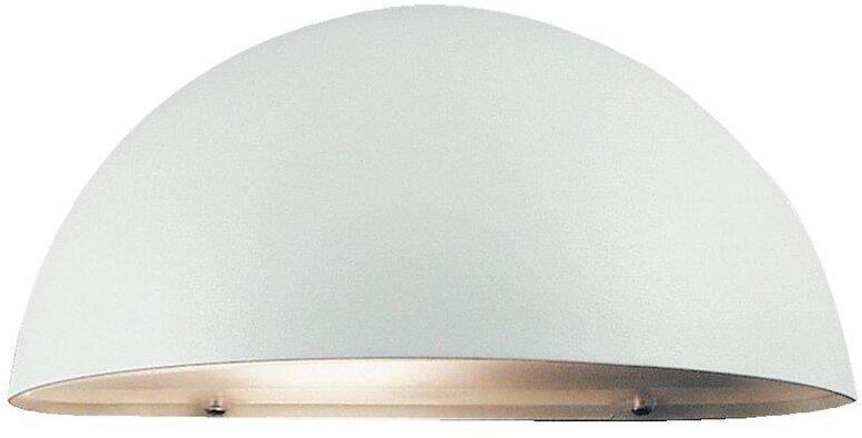 Kinkiet zewnętrzny Scorpius 21651001 Nordlux biała oprawa ścienna w nowoczesnym stylu