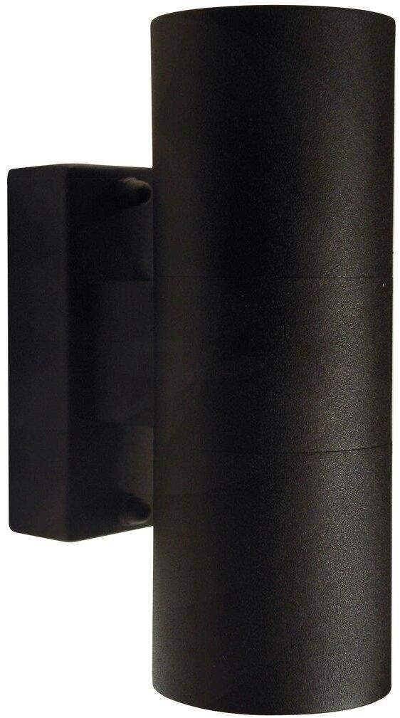 Kinkiet zewnętrzny Tin 21279903 Nordlux podwójna oprawa w kolorze czarnym