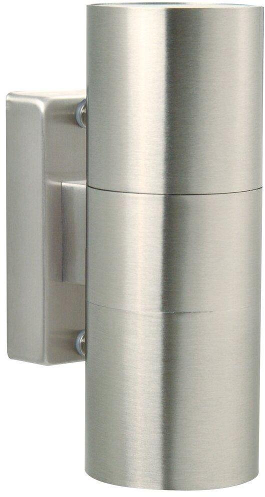 Kinkiet zewnętrzny Tin 21279134 Nordlux podwójna oprawa w kolorze stalowym