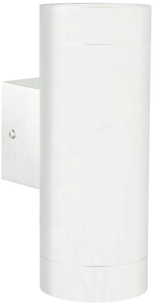 Kinkiet zewnętrzny Tin Maxi 21519901 Nordlux podwójna oprawa w kolorze białym