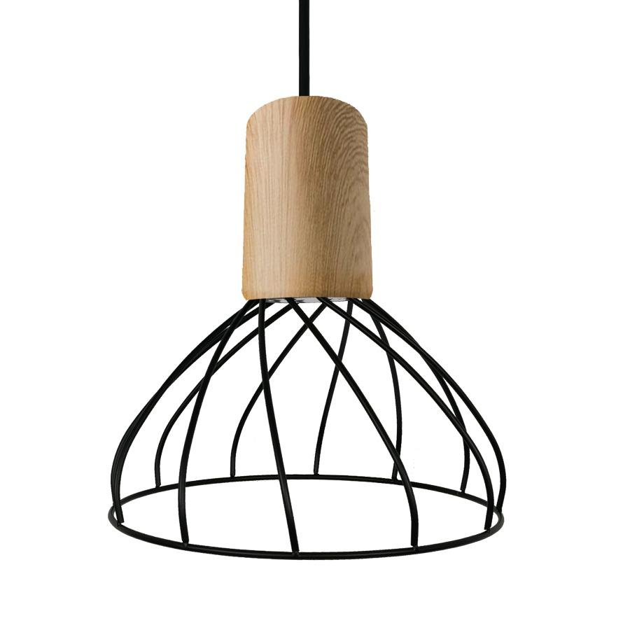 Lampa wisząca Moderno mała GU10 LP-1221/1P S BK - Light Prestige Do -17% rabatu w koszyku i darmowa dostawa od 299zł !