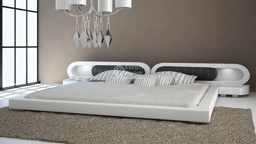 Łóżko do sypialni Harmony 2xLed
