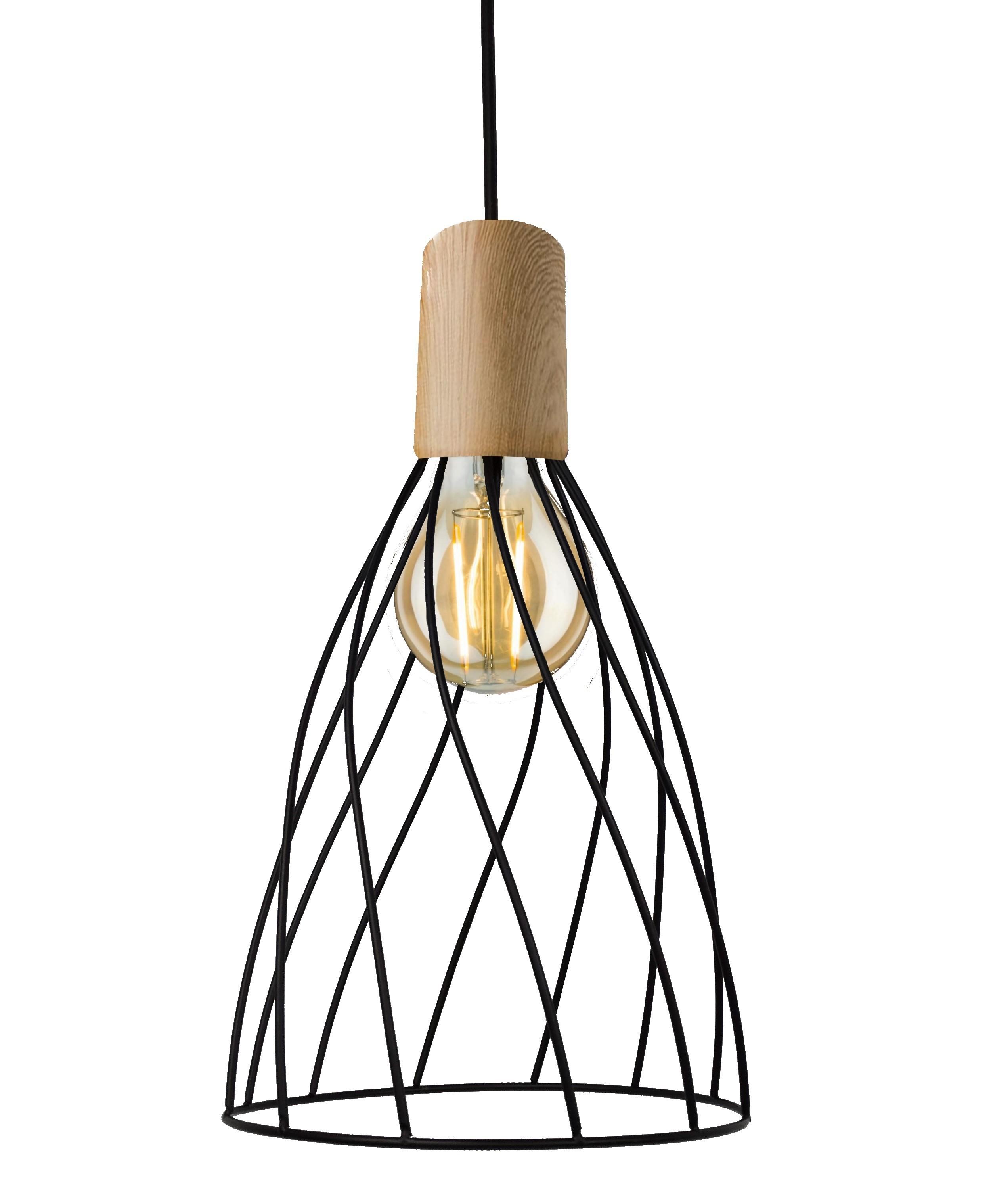 Lampa wisząca Moderno długa E27 LP-1221/1P L E27 BK - Light Prestige Do -17% rabatu w koszyku i darmowa dostawa od 299zł !