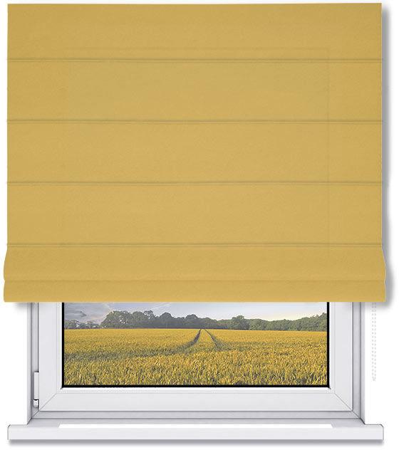 Roleta Rzymska INES - Yellow / Biały