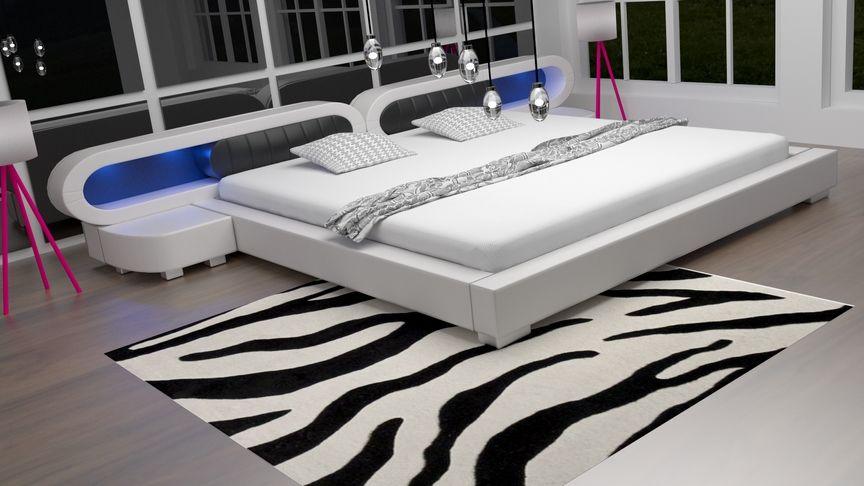 Łóżko do sypialni Harmony 4xLed 180x200